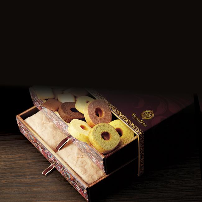 Tresore Dolce [宝石箱]フルーツカラーバウム&今治産タオル No.60
