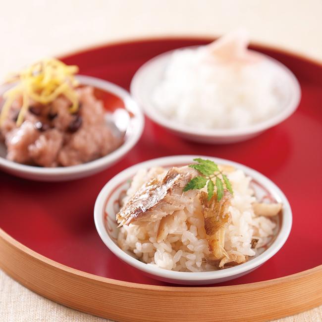 新米夫婦(赤飯・鯛めし) No.30